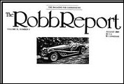 <em>The Robb Report</em> discusses the introduction of the Clenet Series IV Sportster as new, improved, and a real &quot;steel&quot; in August 1985.