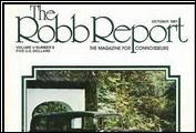 A Houston dealer and a private owner advertise Clenets in <em>The Robb Report</em>, in October 1981.